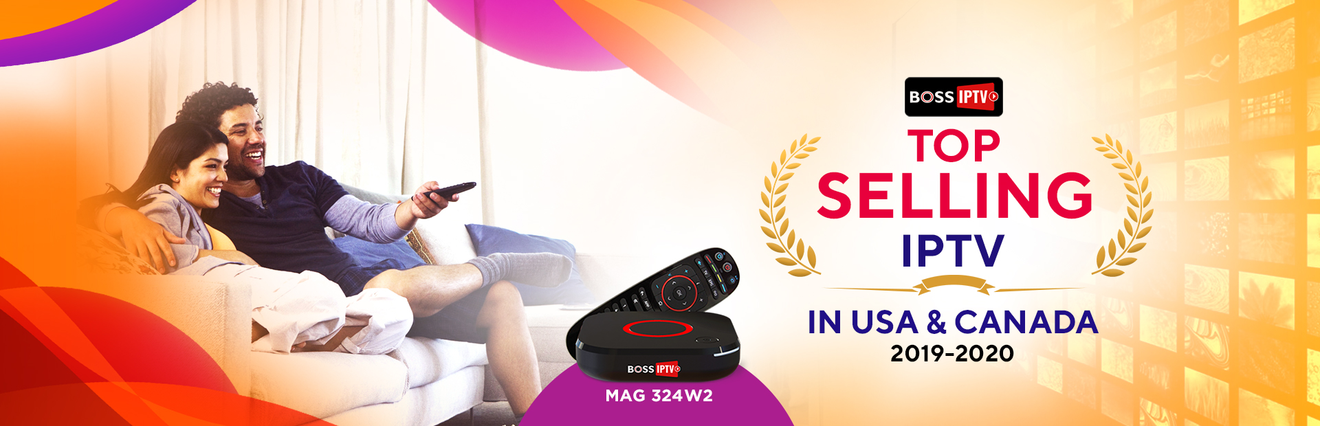 Top Selling IPTV in USA & CANADA